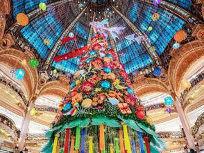 Christmas in Paris - The Galeries Lafayette Christmas Tree