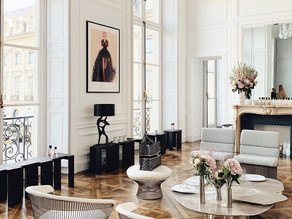 The Maison Christian Dior Apartment in Place Vendôme