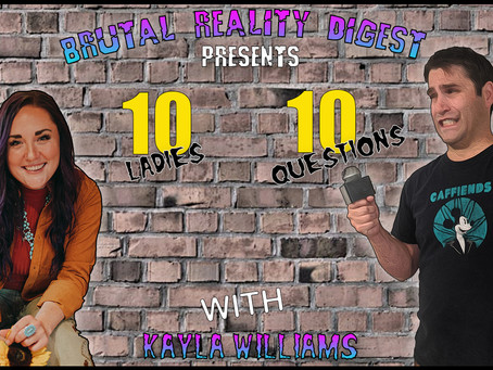 10 Ladies - 10 Questions - Kayla Williams