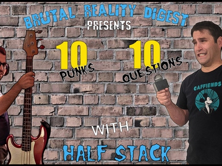 """10 Punks - 10 Questions - Cody """"Halfstack"""" Blakely"""