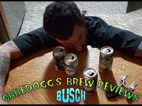 Gabedogg's Brew Reviews - Busch Beer