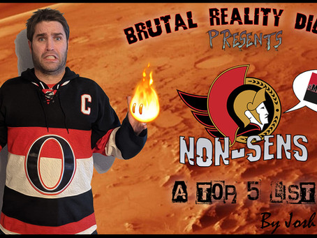 Non-Sens: Top 5 Reasons To Never Cheer For The Ottawa Senators