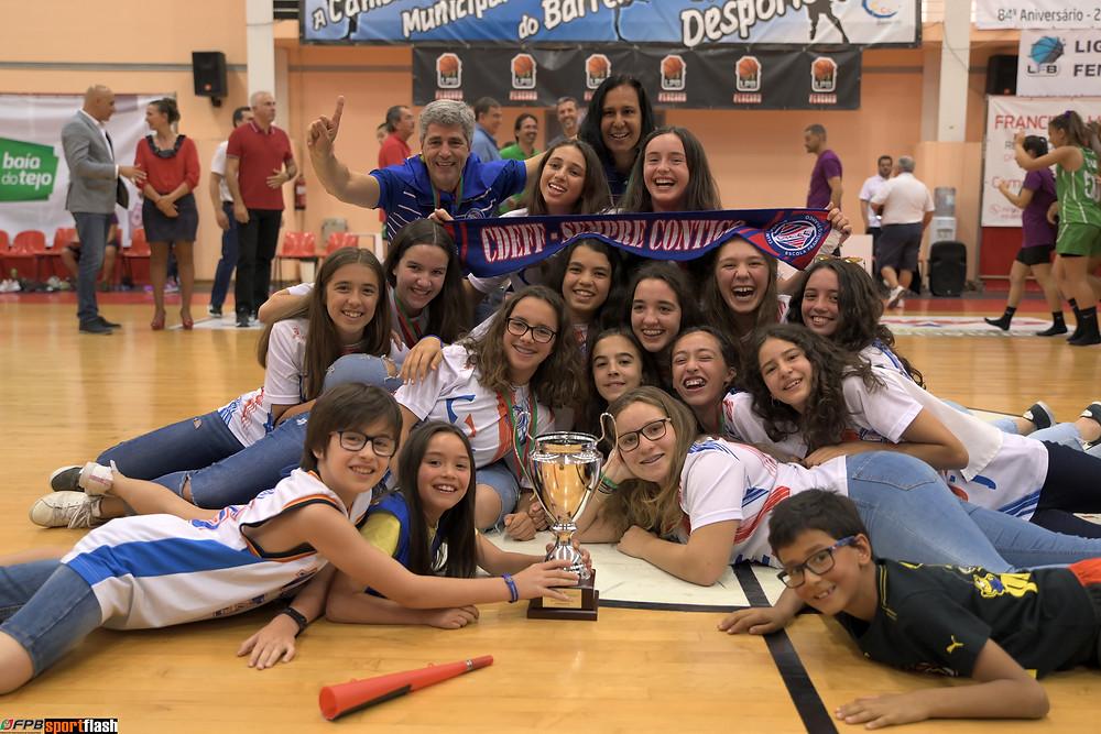 Francisco Franco Sub 14 Fem - Campeão Nacional 2019