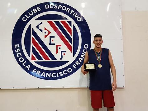 Tarsicio Camacho - MVP da Taça Nacional Sub 18 Masculinos 2015/2016