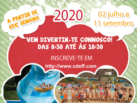 XV campo de férias 2020