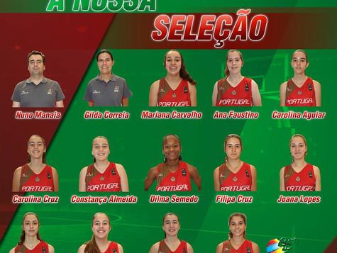 2 Internacionais em 2016 - Carolina Aguiar e Vicente Jardim. Parabéns