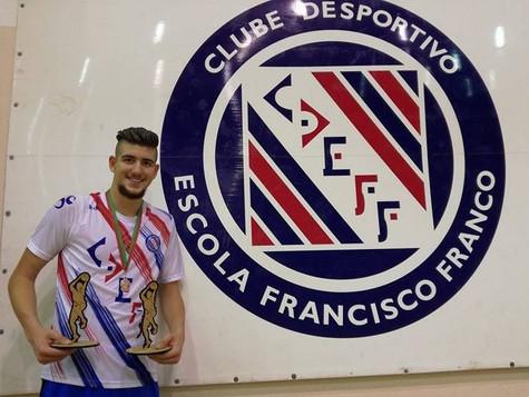 Tarsicio Camacho no Estágio da Seleção Nacional de Sub18