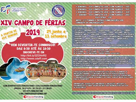 XIV Campo de Férias 2019