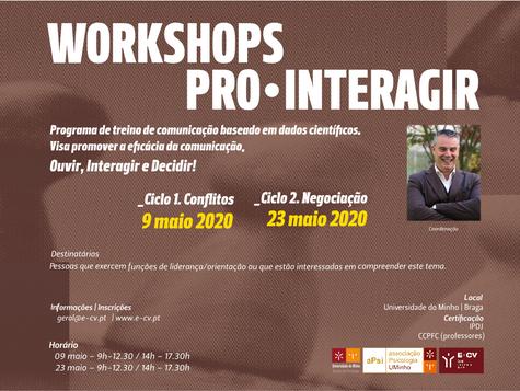 Workshops Pro.Interagir