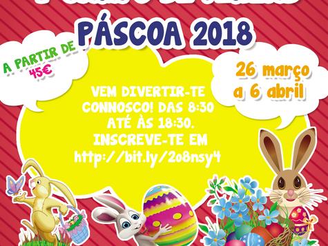 V Campo de Férias - Páscoa 2018.