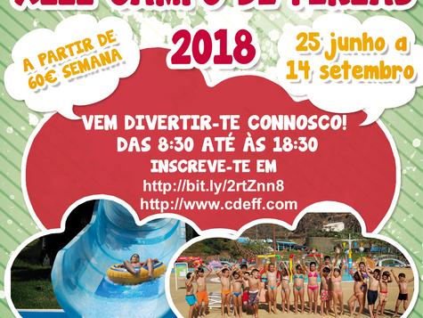 XIII Campo de Férias de Verão 2018