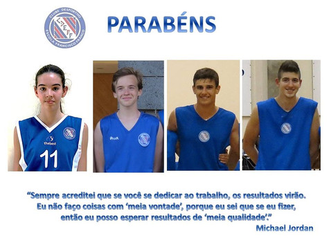 É com muito orgulho e satisfação que a secção de basquetebol do CDEFF, bem como toda a estrutura des
