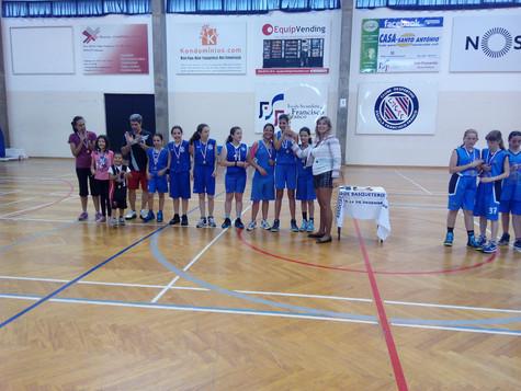 Taça Madeira - Vencedoras 2015              Mini 12 Femininas