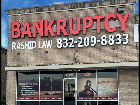 Where can I find a good bankruptcy lawyer in Houston, Texas?