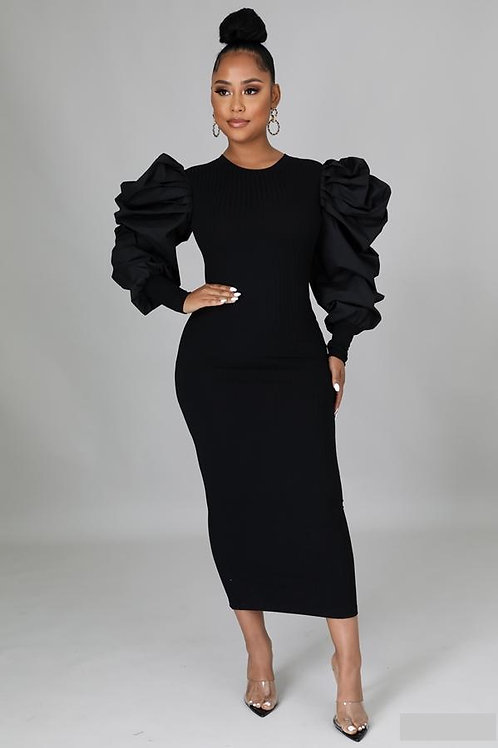 ALLIE Fitted Midi