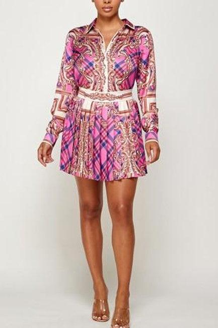 Nina 2 pc Skirt Set