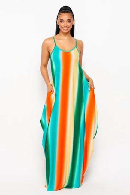 It's The Stripes For Me Maxi