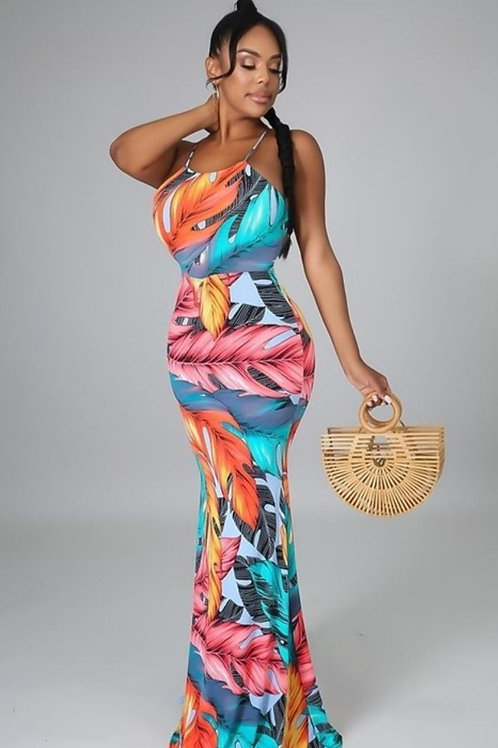 """''Summer"""" Back Out Maxi"""