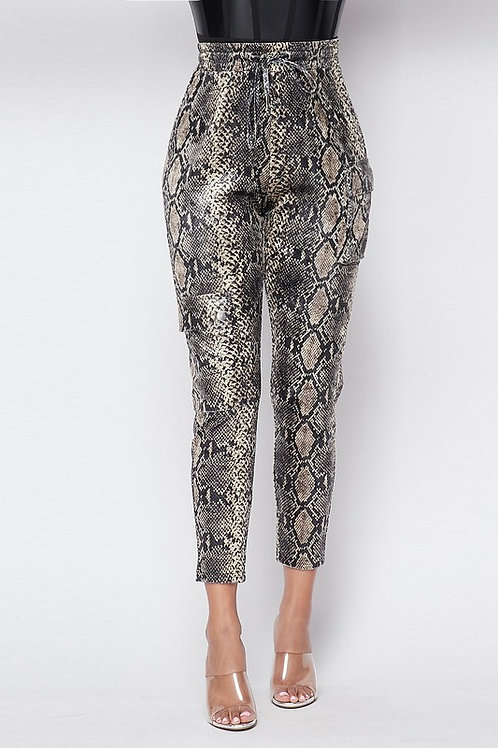 Nora Snake Print Bottom