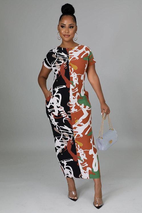 The Graffiti Dress