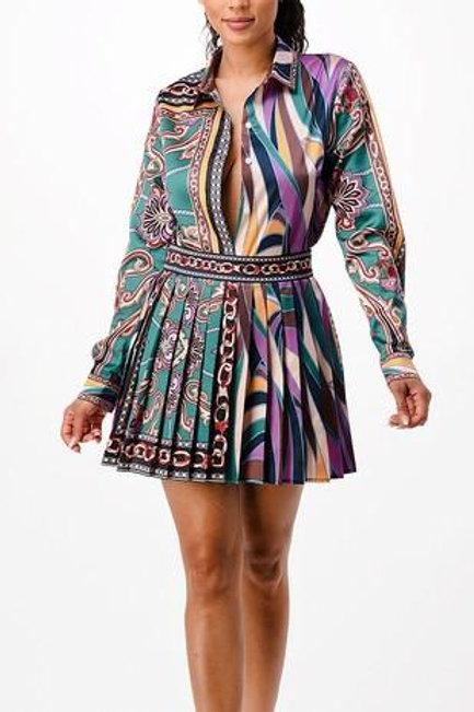 LaLa 2pc Skirt Set