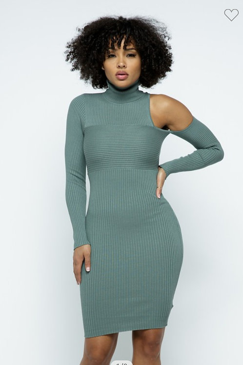 The Missing Piece Fitted Dress