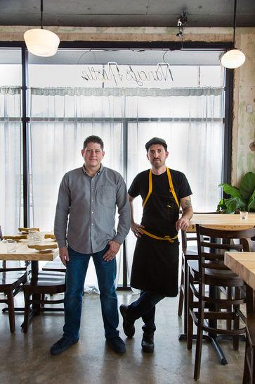 Sean Jensen+Chef Jason Vaughn