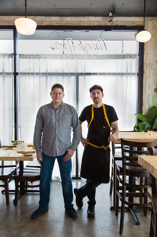Sean Jensen+Chef Jason Vaughn