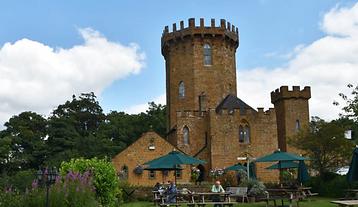 The Castle at Edge Hill main turret