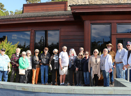 Club members cruise to scary Cambria!