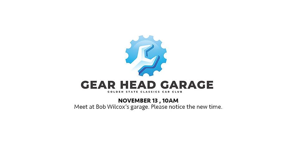 Gear Head Garage - Bob Wilcox's Garage
