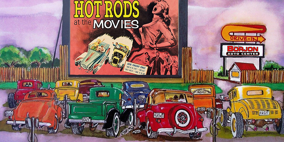 Hot Rods at the Movies!