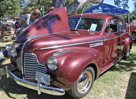 We enjoyed the Mid-State Cruisers 30th Annual Atascadero Lake Car Show