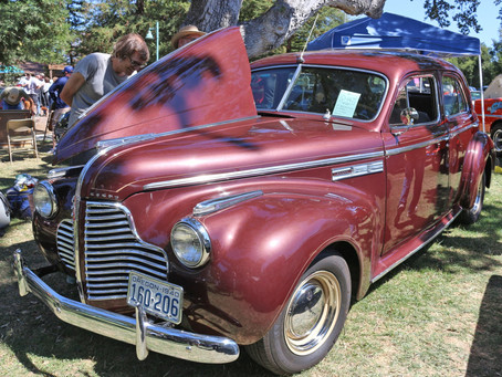 We enjoyed the Mid-State Cruisers 30th Annual Atascadero Lake Car Show