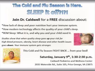 Cold & Flu Season is Here... ZZZzzzzzz