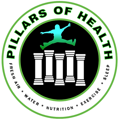 Five Pillars of Health, integrative, well, nutrition, sleep, water, physical activity, fresh air