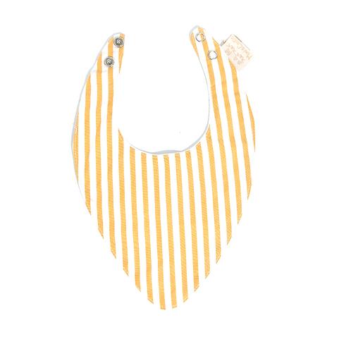 Bandana rayé jaune