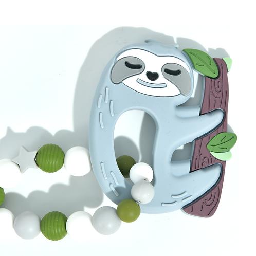 Hochet de dentition paresseux