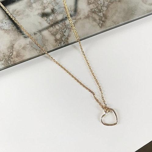 Collier cœur mini
