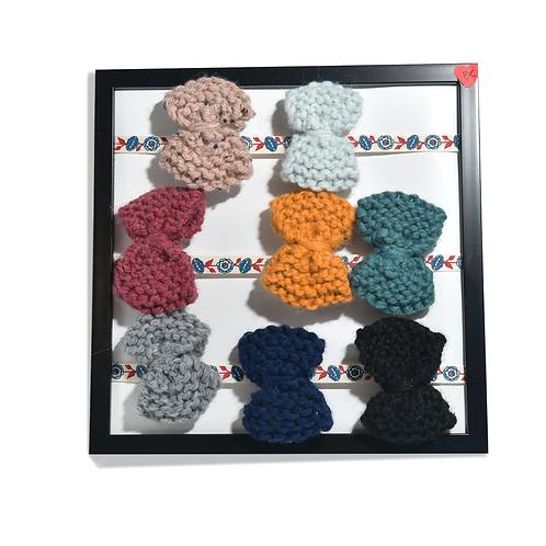 Mini barrette en crochet