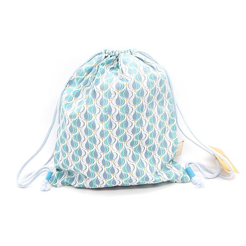 Petit sac à dos souple bleu archi