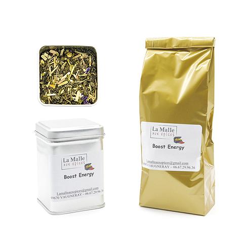 Mélange thé vert et noir boost energy (vrac 100g)