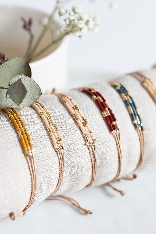 Bracelet réglable Chloé (divers coloris)