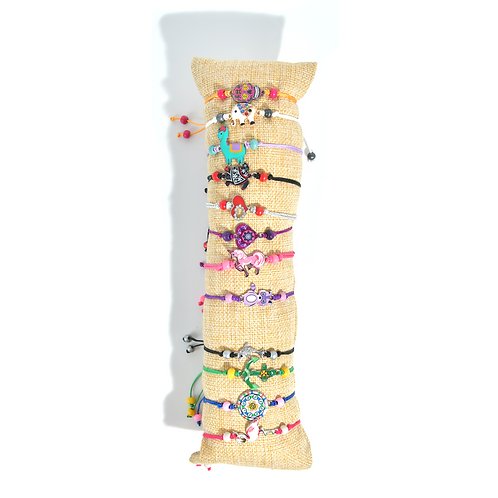 Bracelet réglable coloré (12 modèles au choix)