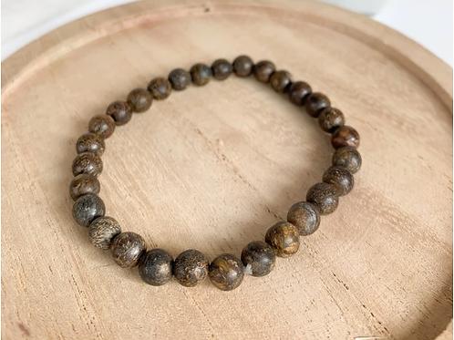 Bracelet mixte pierres naturelles