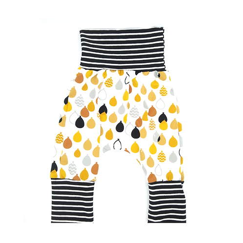 Pantalon évolutif ballons moutardes