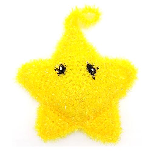 Eponge tawashi lavable étoile