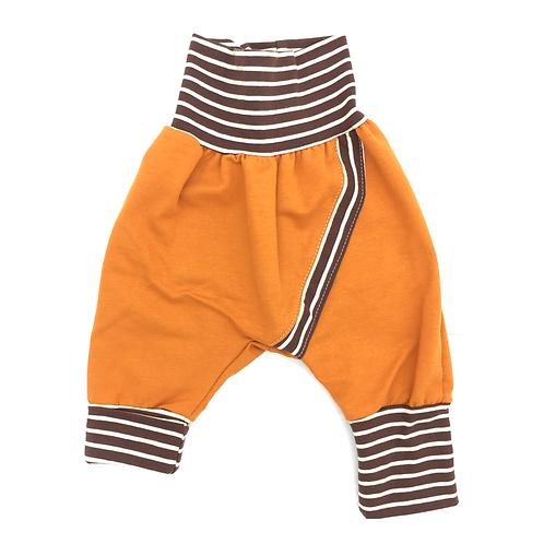 Pantalon évolutif caramel