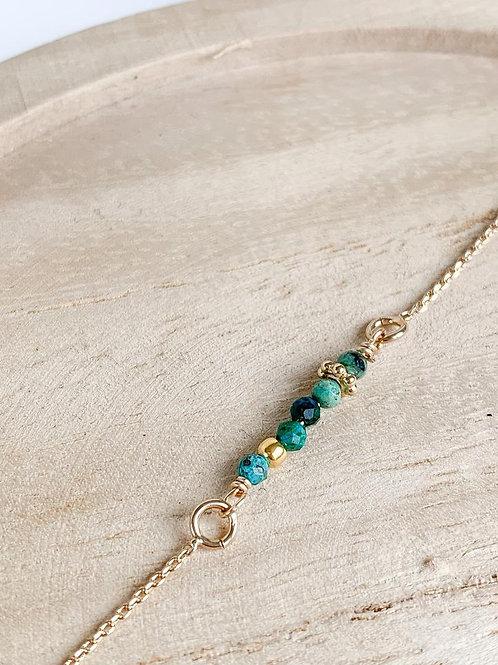 Bracelet chaîne Céleste (divers coloris)