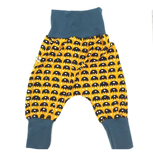 Pantalon évolutif jaune et noir